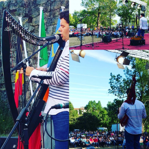Foto-Resumen del concierto en Ourense